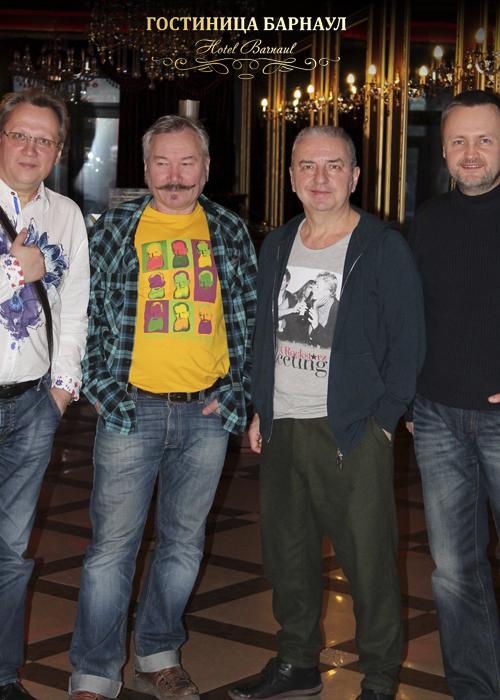 Известные гости в Гостинице Барнаул