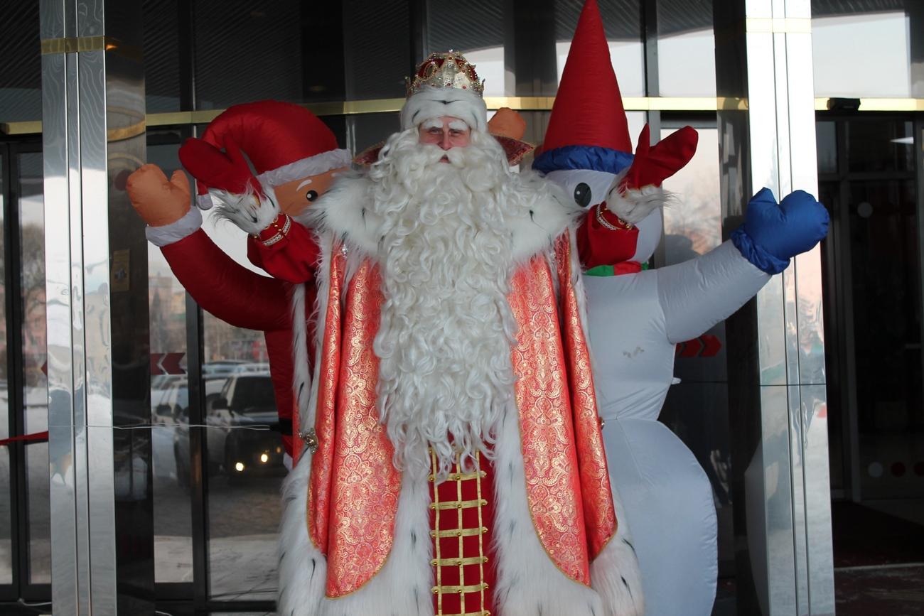 Дед Мороз в Барнауле!