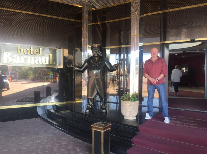 """В отеле «Барнаул» прошли съемки саги """"Нити Шамбалы. Легенды Великого Алтая"""""""