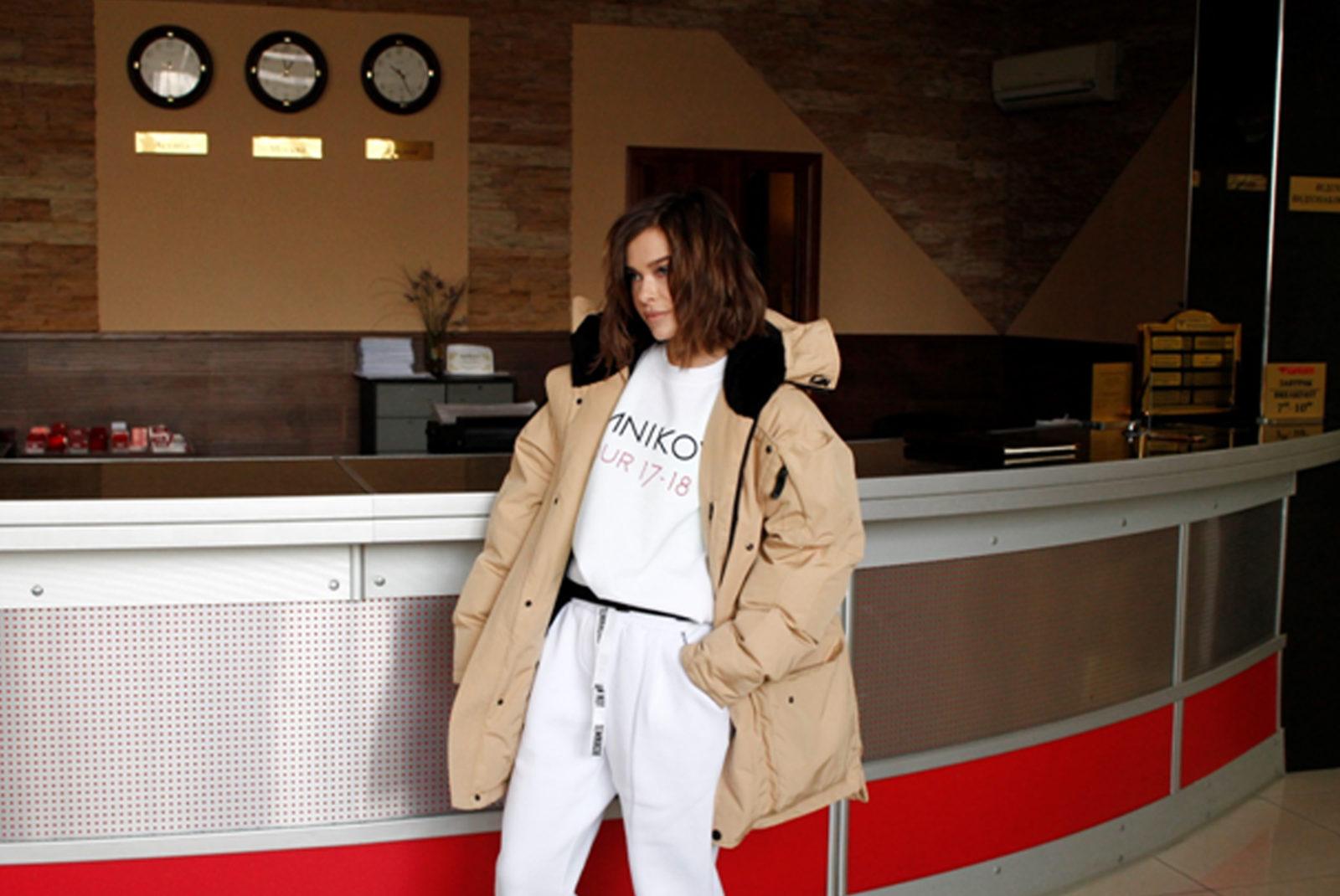Елена Темникова в гостинице Барнаул
