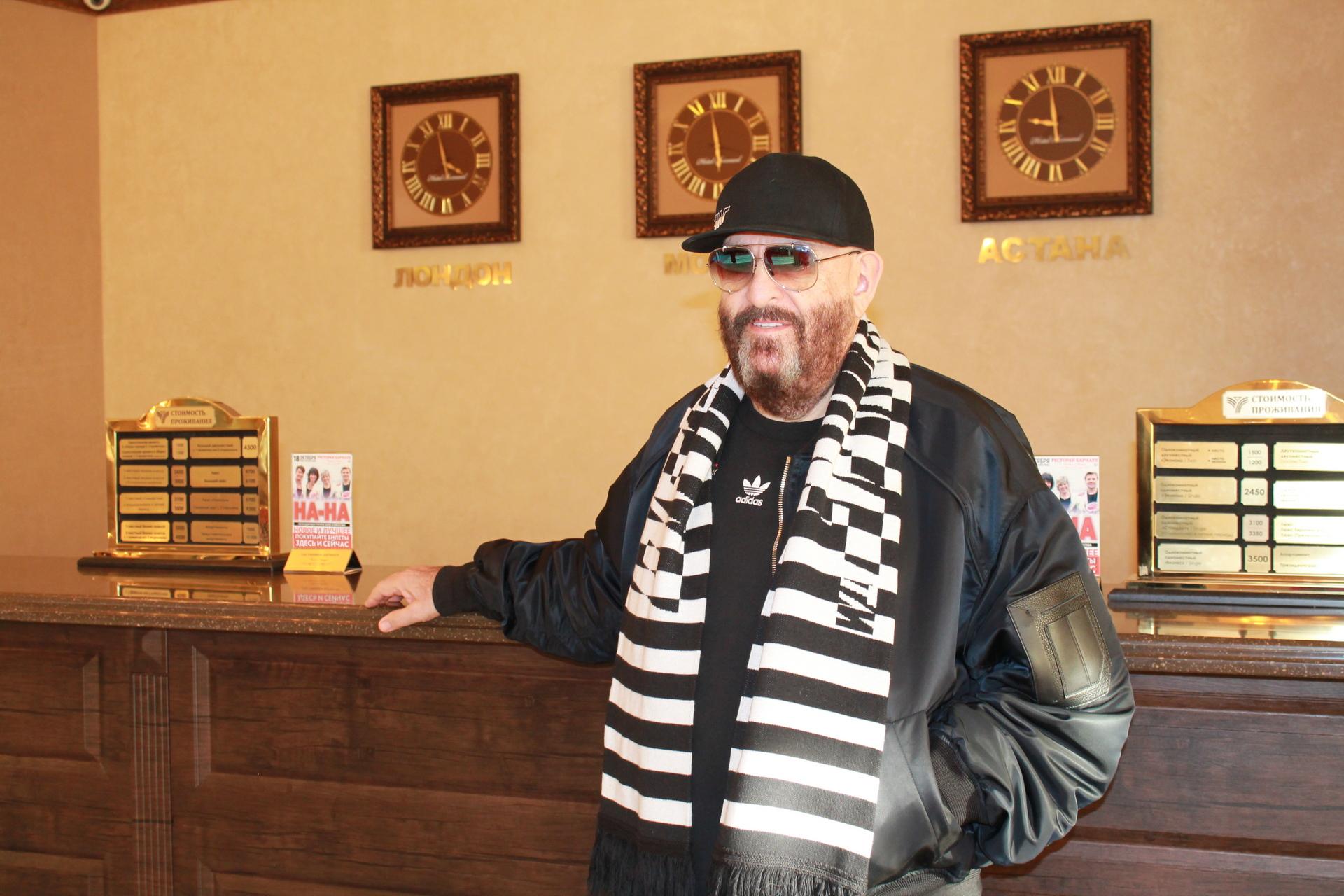 Михаил Шуфутинский в гостинице Барнаул